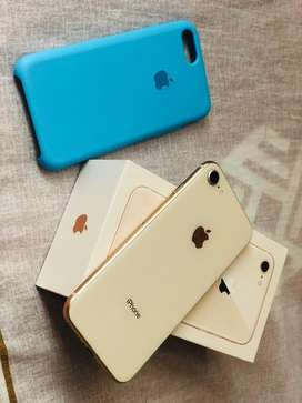 Iphone 8 de 64 gb rose gold sin fallas