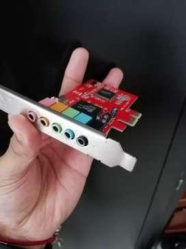 Tarjeta de sonido PCI Express