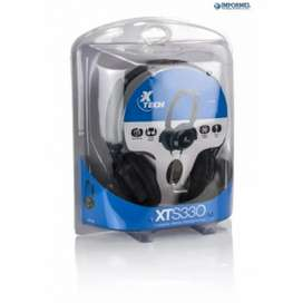 Audifonos Americanos Xtech Xts-330 Alta Fidelidad Biaural
