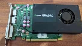 Vendo tarjeta gráfica Quadro K2000 Gddr5 2Gb