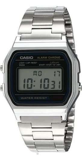 Reloj Casio Clasico Retro A158WA Unisex Original