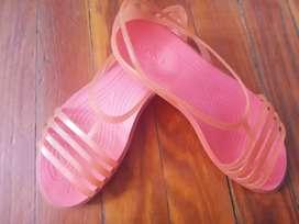 Chatitas sandalias crocs n37 Belgrano impecable