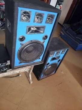 Cabina de sonido 20 pulgadas