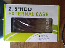 Venta de caja para disco duro 2.0 a 3.0. preció negociable.