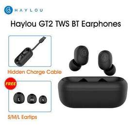 XIAOMI Haylou GT2 TWS BT5.0 Auriculares inalámbricos HD Stereo Sport