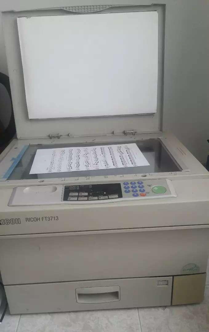 Fotocopiadora Ricoh Ft 3713 0