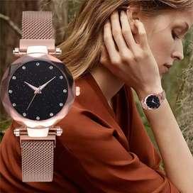 Reloj Universo Mujer Imantado Metálico, Ilusion Of Time Dama