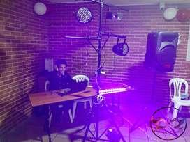 Fiestas alquiler de luces y sonido, meseros, Dj sonido protocolo decoración de mesas y manteles alquiler de copas menaj