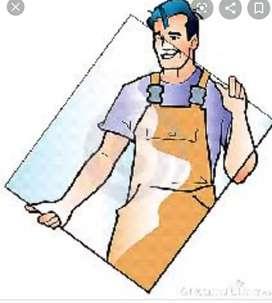 Ayudante de vidrieria con expeciencia