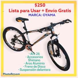 BICICLETA ALUMINIO ARO 26 *ENVIO GRATIS*