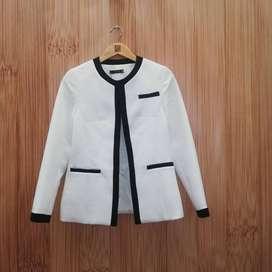 Chaqueta blazer Milan Blanco para mujer talla 8