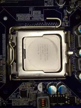 Procesador intel core duo con board