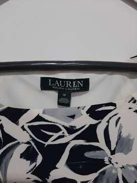 vestido formal Ralph Lurent talla 12 USA