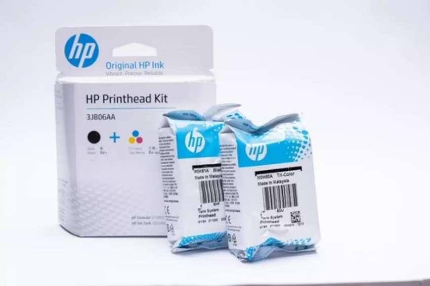 Combo cabezal Hp para Impresora con sistema de recarga continua Original