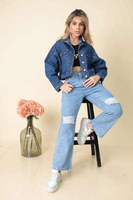 Jeans para dama ( BAGGY, boyfriend, culotte, etc)