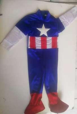 Traje del capitán América