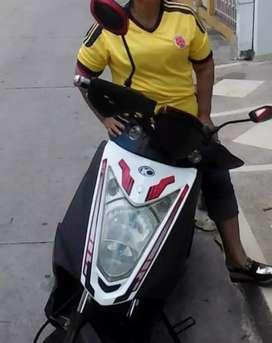 Moto auteco agility 2013