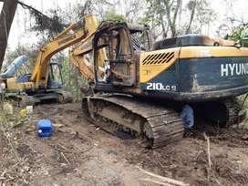 Excavadora Marca Hiundai año 2011