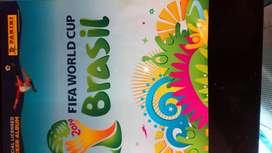 ÁLBUM FIFA WORLD CUP. BRASIL 2014 PANINI. CON 403 LÁMINAS. EXELENTE ESTADO.