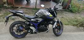 Vendo moto Yamaha mt03