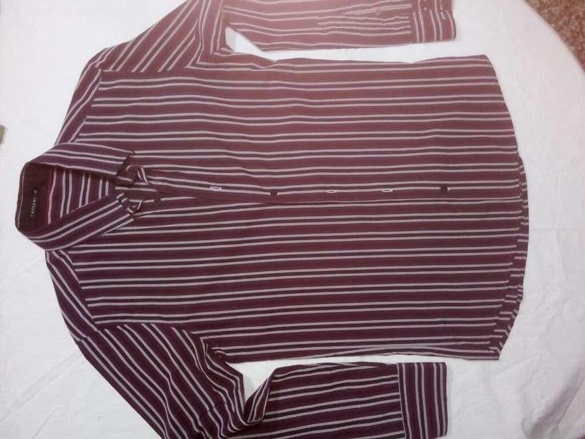 Camisa Hombre Slim Fit Tascani 0