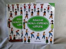 JUEGOS DE MUSICA Y EXPRESIÓN CORPORAL PARRAMON
