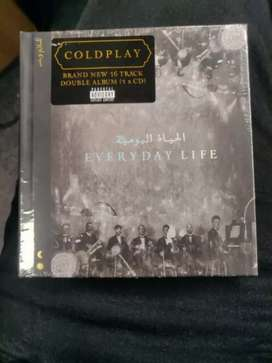 Coldplay - Everyday life CD nuevo y sellado.