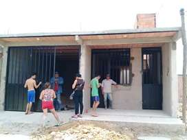 Casa barranca de upia barrio girasoles 2 habitaciones garaje cocina sala comedor baño placa facil