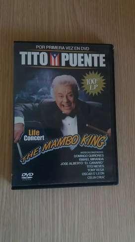 DVD de Tito Puente en Concierto. Original.