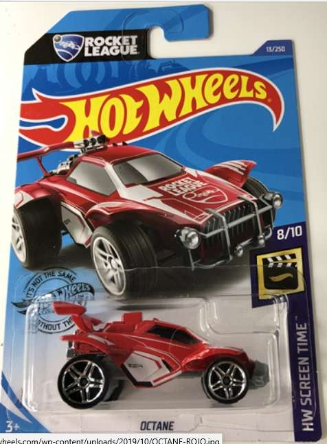 Nueva Versión-cohete Liga Octane-Rojo-HW Game Over - 2019 Hot Wheels 0