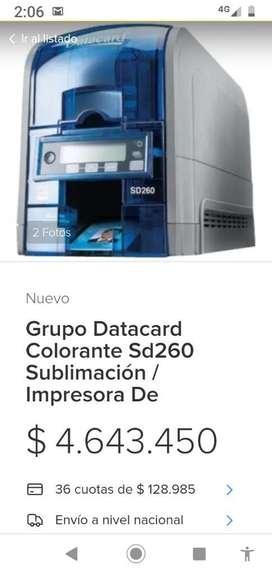 IMPRESORA DATACAR SD260 PERFECTO ESTADO