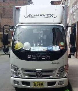 camión furgón, marca foton (1.5 ton.), año 2016