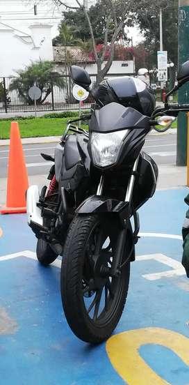 Moto Honda 125 twister 2019 con TRANSFERENCIA NOTARÍAL
