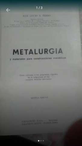 Libro metalurgia