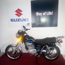 SUZUKI GN 125 MODELO 2021