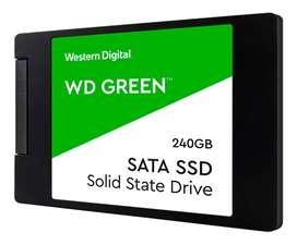 "DISCO DURO DE ESTADO SOLIDO WESTERN DIGITAL, 240GB, SATA 6.0 GBPS, 2.5"", 7 MM."