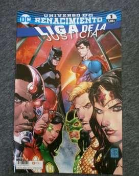 Comics liga de la justicia Renacimiento nuevos