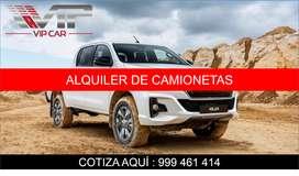 ALQUILER DE CAMIONETAS EN HUANCAYO