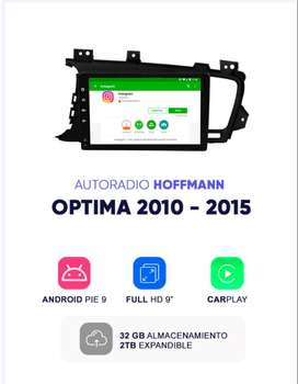 Autoradio Hoffmann Homologado Kia Optima 2010 - 2015 9″ Android 9.1
