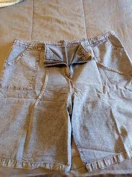 Vermudas de jeans mujer nueva T. 54