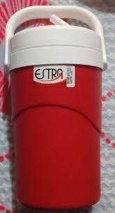 Termo de 1 litro marca Estras color Rojo