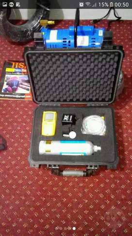 Detector de gáses explosimetro oxigeno  monoxido h2s
