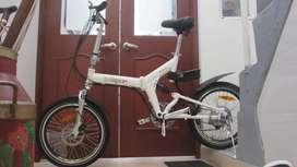Bicicleta eléctrica Plegable - Sin Batería