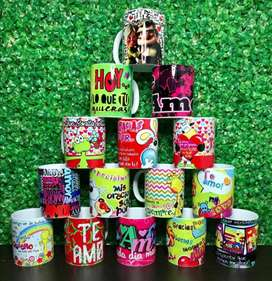 Mugs personalizados sublimados