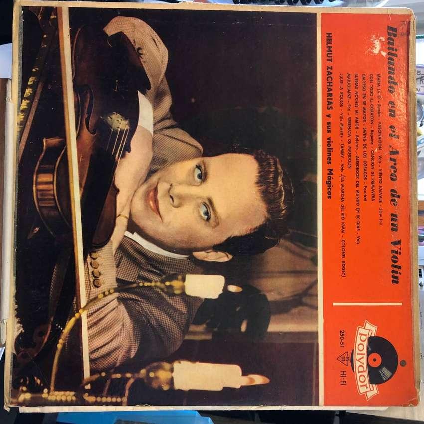 LP de Helmut Zacharias y su Orquesta año 1959