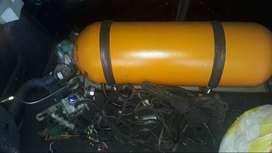 Se vende equipo de gas 5ta generación