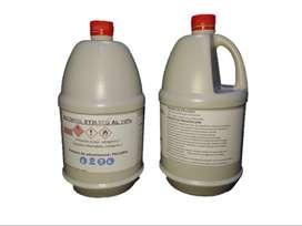2 Gasolones 3,8 Lts C/u Alcohol 70% Antiseptico Etilico
