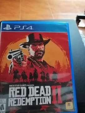 Vendo o cambio Red Dead Redemption 2 ps4 original
