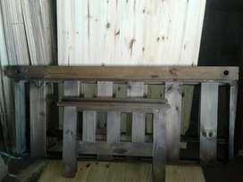 OFERTAFuton de madera 1.40 metros a 3800 pesos