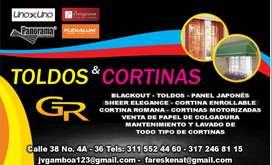 TOLDOS Y CORTINAS GR.